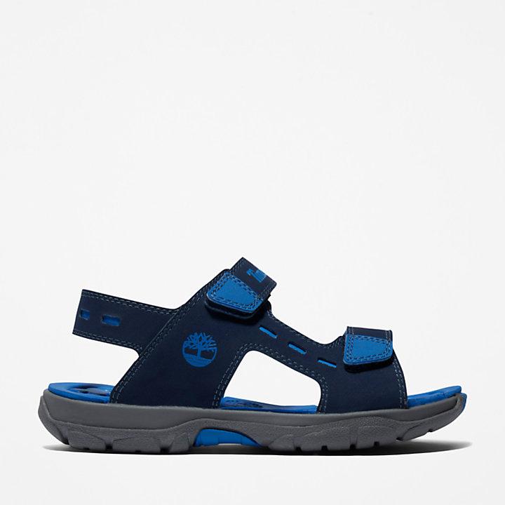 Sandali da Bambino (dal 30,5 al 35) Moss Jump Blu Marino-