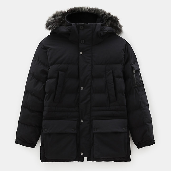 Mount Magalloway Parka for Men in Black-