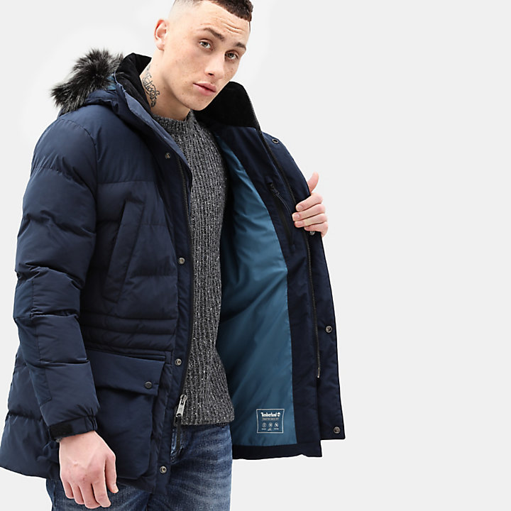 Mount Magalloway Parka for Men in Navy-