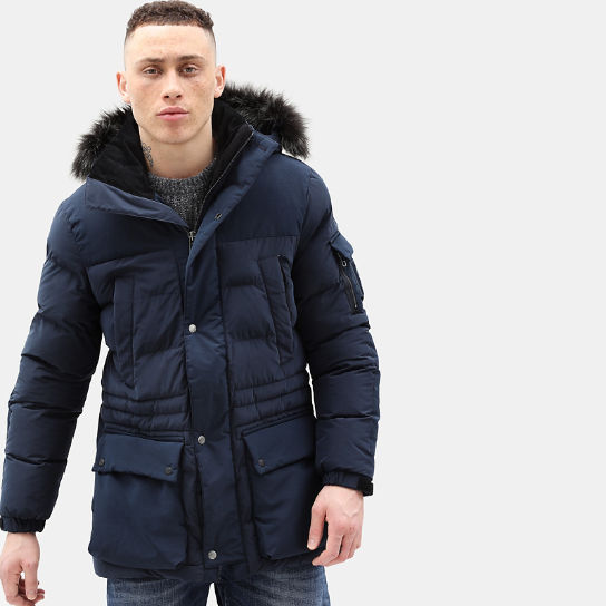 Mount Magalloway Parka for Men in Navy | Timberland