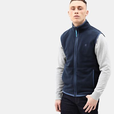 Whiteface+River+Fleece+for+Men+in+Navy