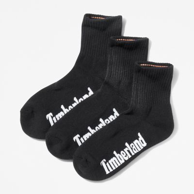 Stratham+3-pack+Sport+Socks+for+Men+in+Black