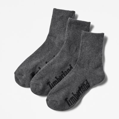 Stratham+3-pack+Sport+Socks+for+Men+in+Grey