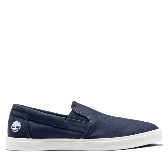 Union Wharf Slip On Trainer for Men in Navy | Timberland