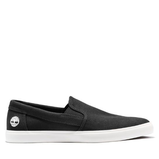 Union Wharf Slip On Trainer for Men in Black | Timberland