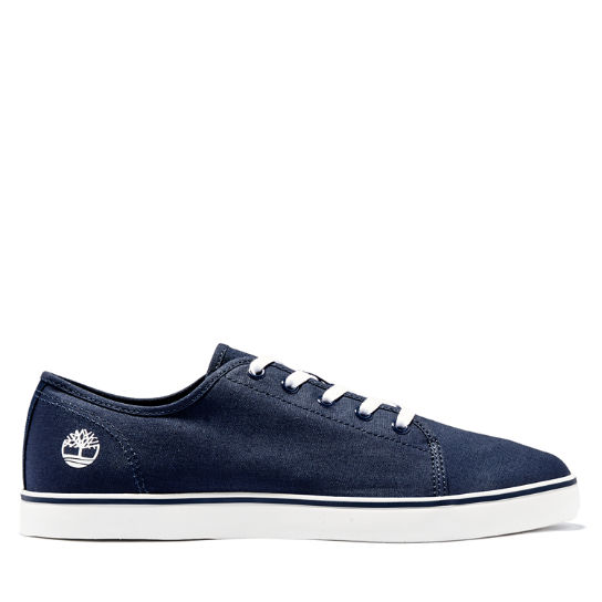 Skape Park Canvas Trainer for Men in Navy | Timberland