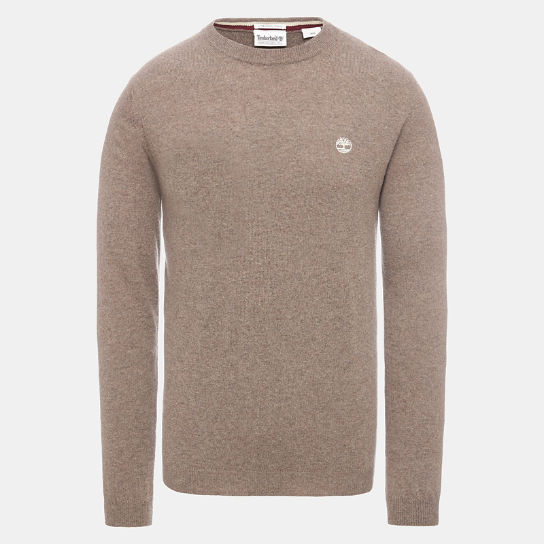 Maglione da Uomo in Misto Lana di Agnello Phillips Brook in beige | Timberland