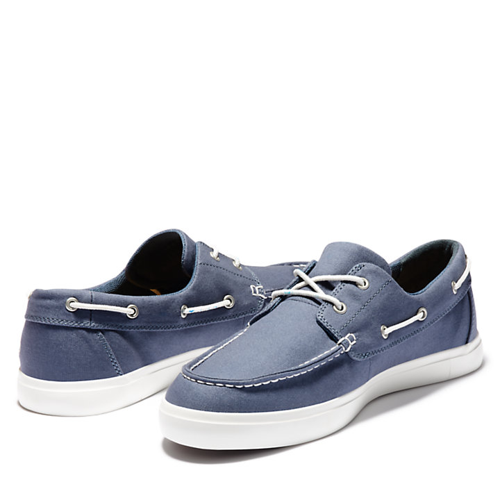 aef0984b90f Union Wharf Boat Shoe for Men in Dark Blue | Timberland