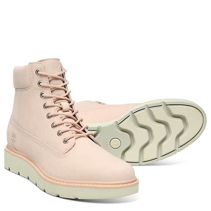 Kenniston 6 Inch Boot for Women in Pale Pink-