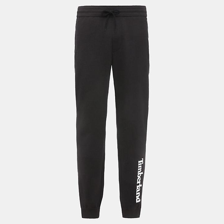 Pantalon de survêtement pour homme en noir-