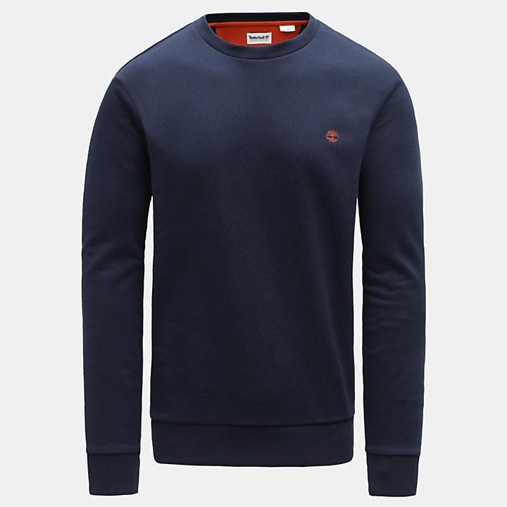 Oyster River Logo Sweatshirt für Herren Navyblau-