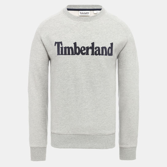 Oyster River Sweatshirt for Men in Grey | Timberland