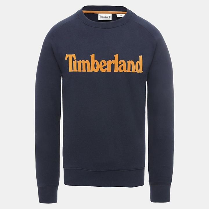 Oyster River Sweatshirt voor Heren in marineblauw-