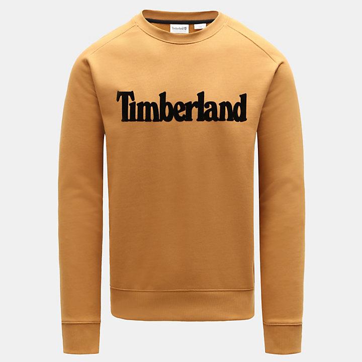 Oyster River Sweatshirt voor Heren in geel-
