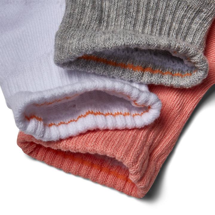 Stratham 3-pack Ankle Socks for Women in Multicoloured-