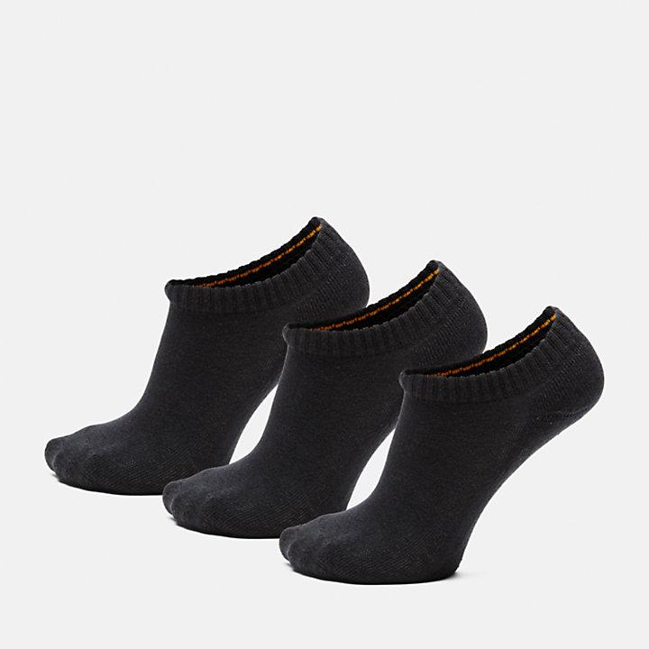 Three Pair Stratham Socks for Women in Black-