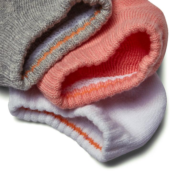 3paires de chaussettes Stratham pour femme en multicolore-