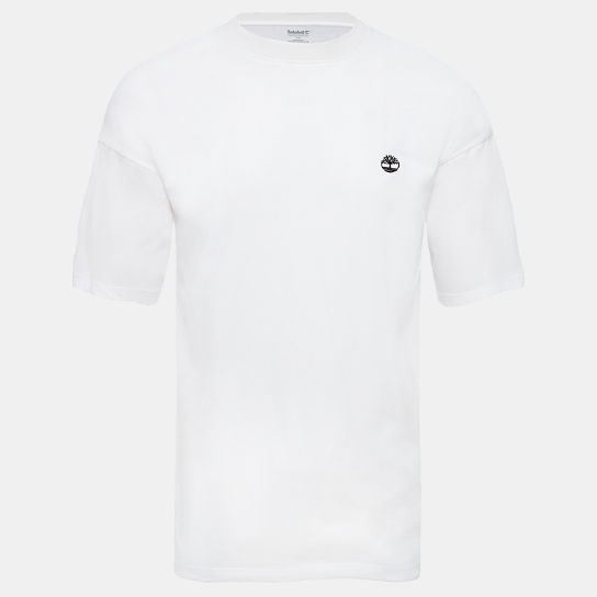 Organic Cotton T-Shirt for Men in White | Timberland