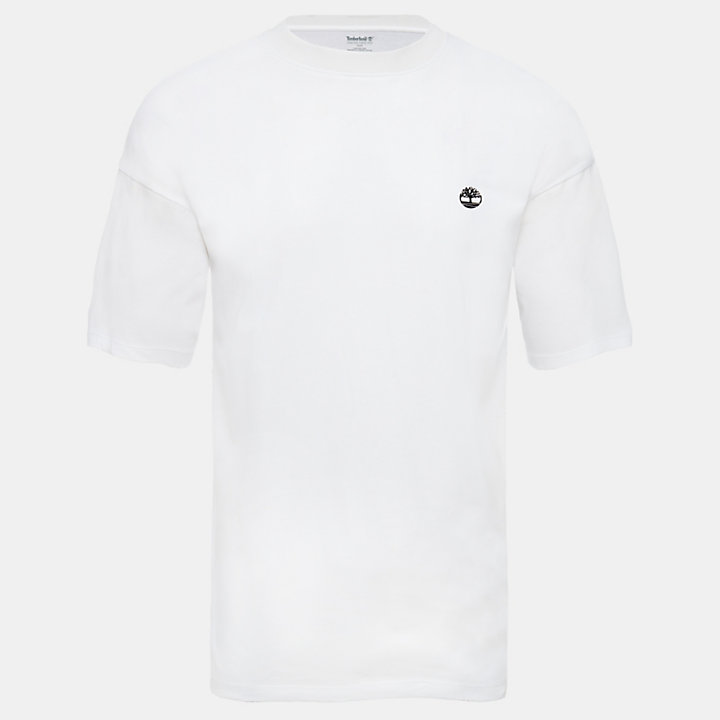 Organic Cotton T-Shirt for Men in White-