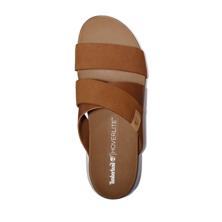 Sandalia Wilesport para Mujer en marrón-