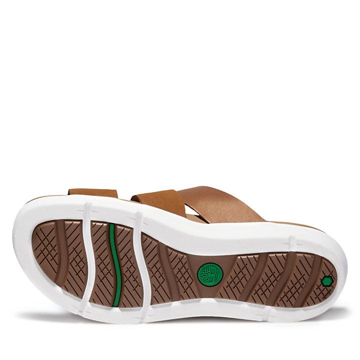 Sandalo da Donna Wilesport in marrone-