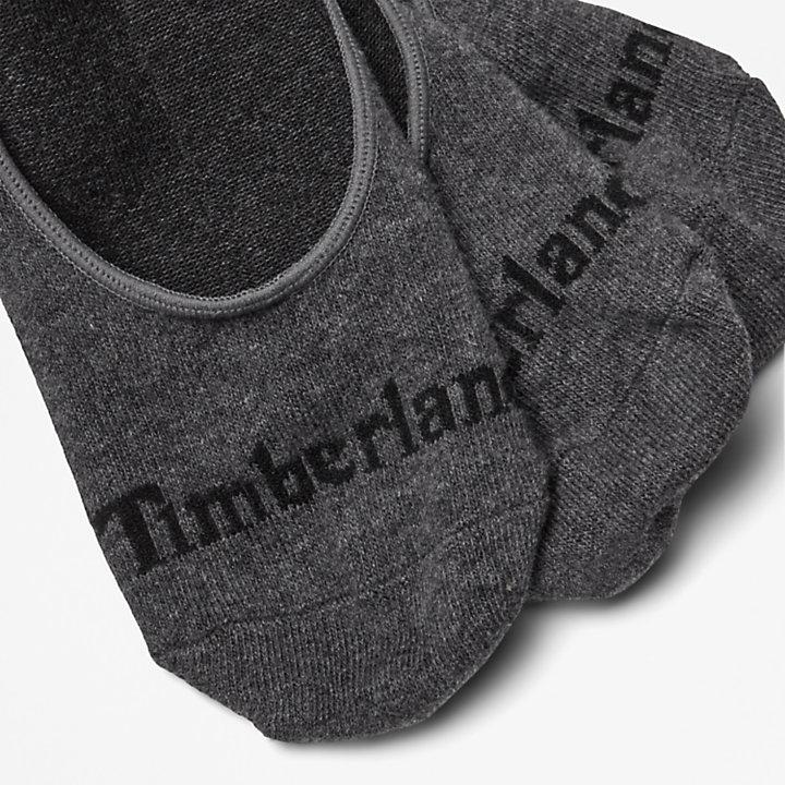 Lot de 3paires de chaussettes invisibles Stratham pour homme en gris-