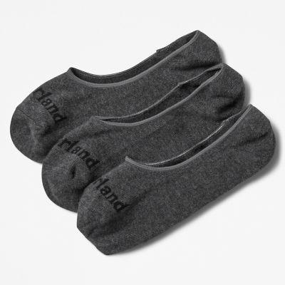 Stratham+3-pack+Invisible+Socks+for+Men+in+Grey