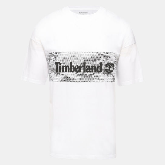 Graphic T-Shirt for Men in White | Timberland