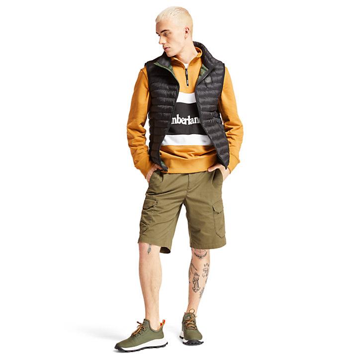 Axis Peak Vest for Men in Black-