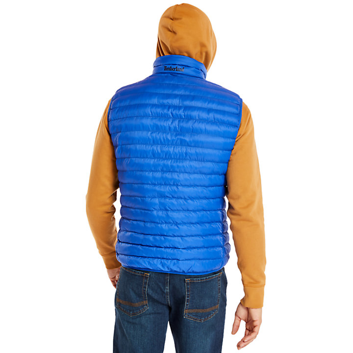 Axis Peak Vest for Men in Blue-