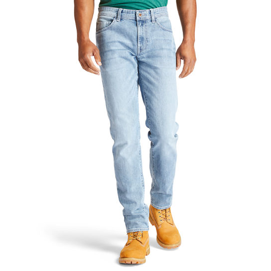 Sargent Lake Stretch Jeans for Men in Light Blue | Timberland