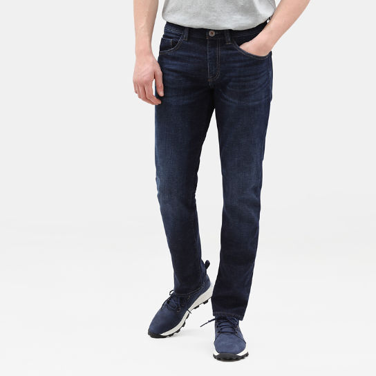 Sargent Lake Stretch Jeans for Men in Dark Blue | Timberland