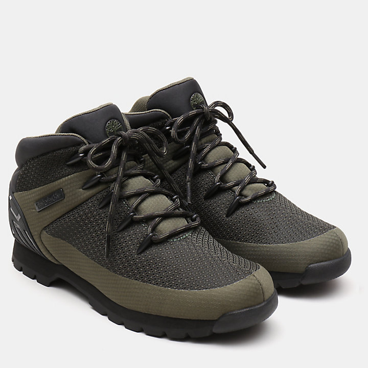 Euro Sprint Hiker for Men in Dark Green-