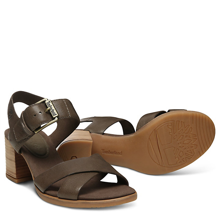 Tallulah May Sandal for Women in Brown-