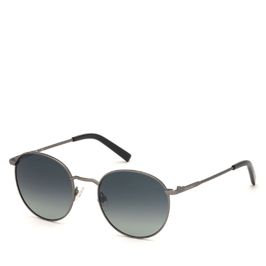 Round Sunglasses for Men in Grey | Timberland