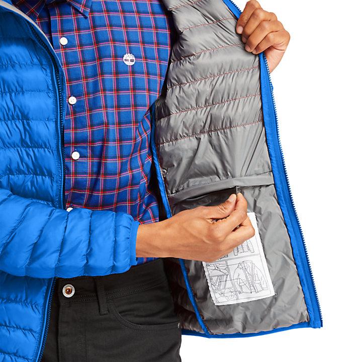 Axis Peak Jacket for Men in Blue-