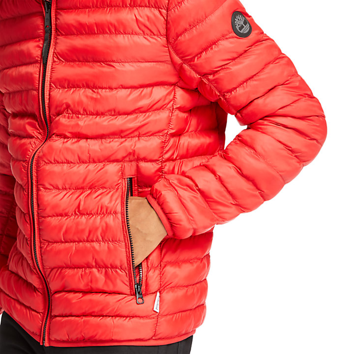 Axis Peak Jacket for Men in Red-