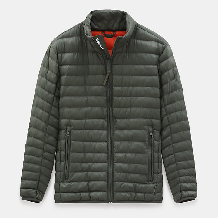 Axis Peak Jacket for Men in Dark Green-