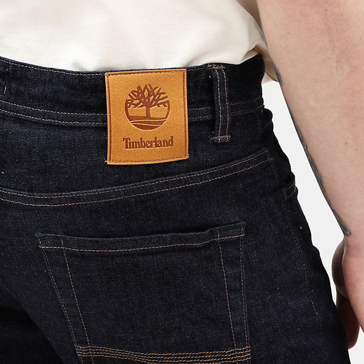Squam Lake Stretch Jeans for Men in Indigo-