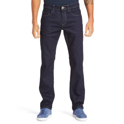 Squam+Lake+Stretch+Jeans+for+Men+in+Indigo