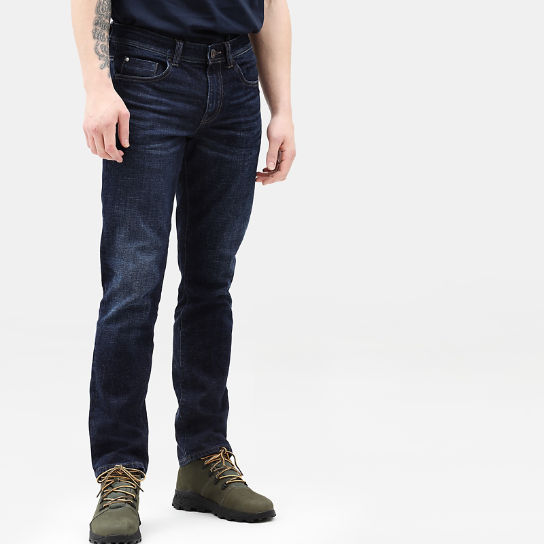 Squam Lake Stretch Jeans for Men in Dark Blue | Timberland