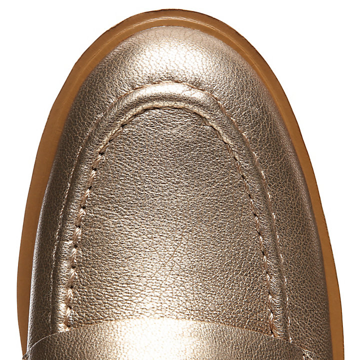 Ellis Street Loafer for Women in Rose Gold-