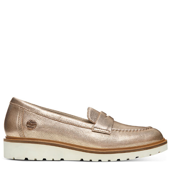 Ellis Street Loafer for Women in Rose Gold | Timberland