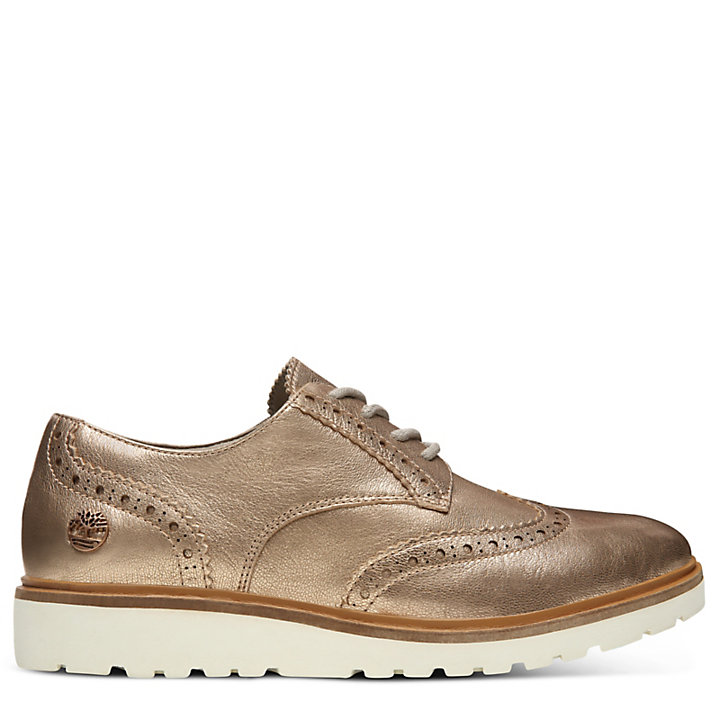 Ellis Street Brogue Oxfordschuhe für Damen in Rotgold-