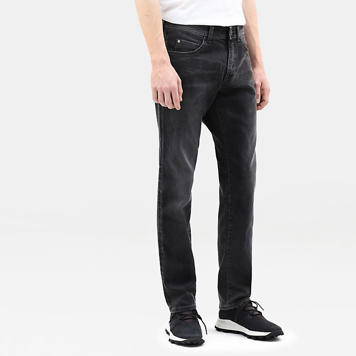 Sargent Lake Stretch Slim Chinos for Men in Grey-
