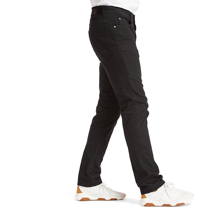 Sargent Lake Slim Stretch Jeans for Men in Black-