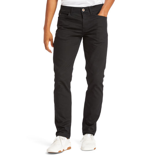 Sargent Lake Slim Stretch Jeans for Men in Black | Timberland