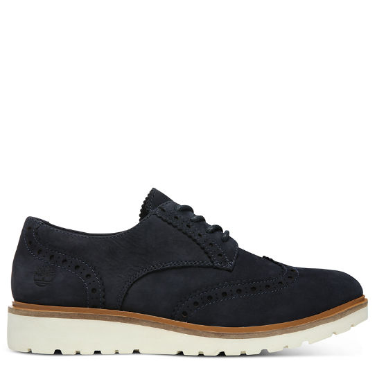 Ellis Street Brogue Oxford for Women in Navy | Timberland