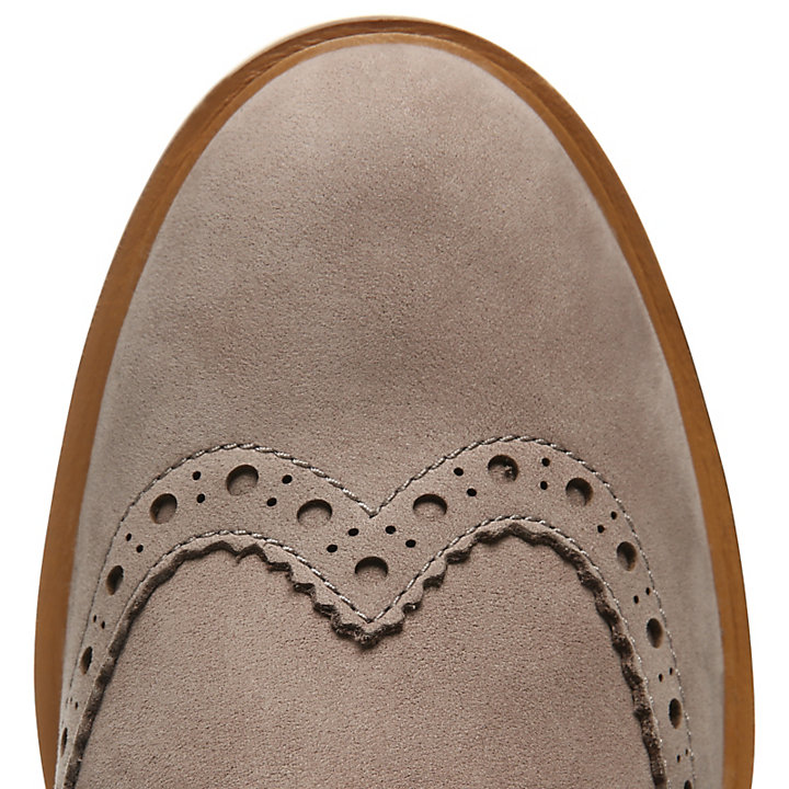 Ellis Street Brogue Oxford for Women in Taupe-