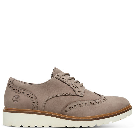 Ellis Street Brogue Oxford voor Dames in Taupe | Timberland